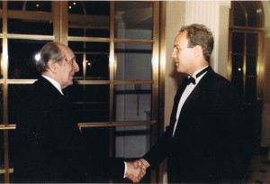 Vladimir Horowitz and David Schauer